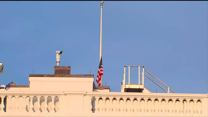 Flags down in honor of servicemembers lives lost in Afghanistan