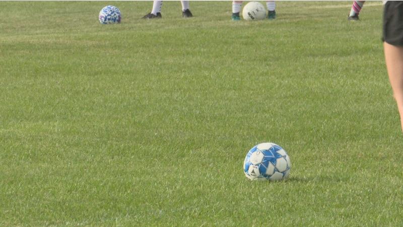 Soccer teams start practicing in Aroostook County.